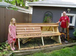 Caughan's Chicken Ark in Oak Park