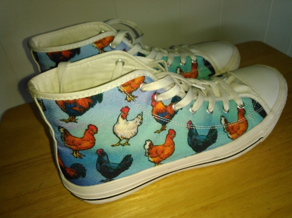 chicken shoes